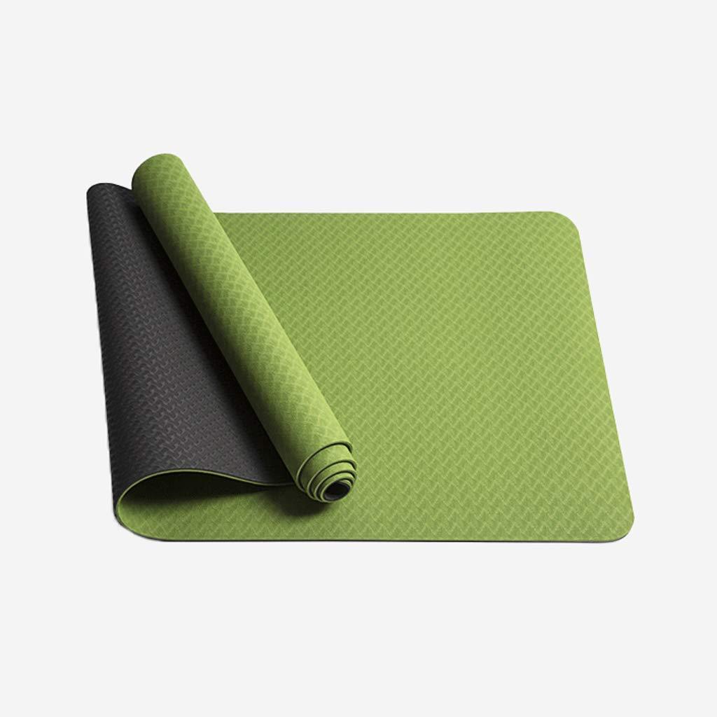 DONGLU High-Density Yoga Matte Rutschfeste 6mm Fitness-Matte (Farbe   1)