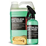 Product review for ECOBOOST All-Natural Waterless Car Wash System with MICROFIBER TOWEL INCLUDED by Shine Society (18 oz.)