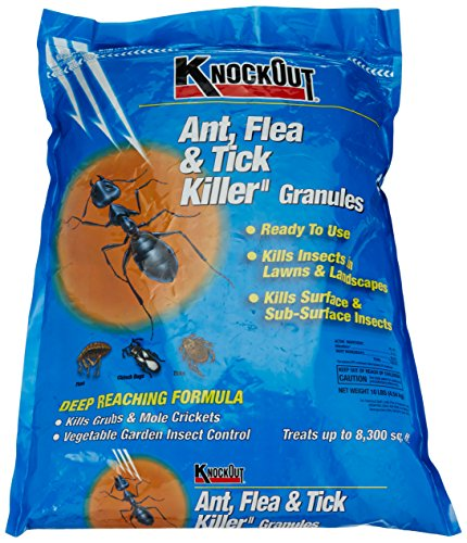 Knock Out 342031.0 Ant, Flea and Tick Killer Granules, 10 lb