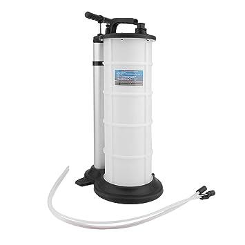 9L portátil práctico Manual de fluido de la bomba de aceite evacuador de Cambio Transferencia coche