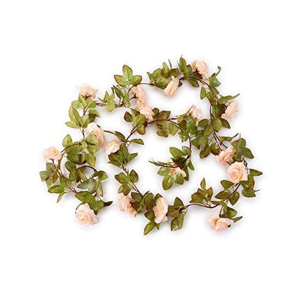 Felice-Arts-2-Pack-11-Heads-72-Ftpc-Artificial-Silk-Fake-Flowers-Autumn-Rose-Vine-Realistic-Hanging-Silk-Rose-Plants-Wedding-Home-Party-Arch-Decor