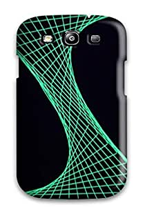 Premium String Art Back Cover Snap On Case For Galaxy S3