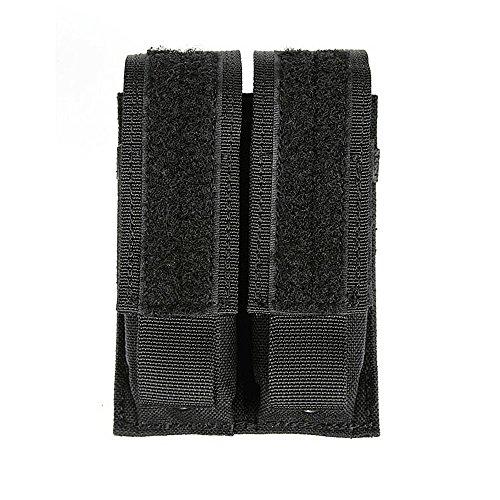 BLACKHAWK! S.T.R.I.K.E. Double Pistol Mag Pouch - Black