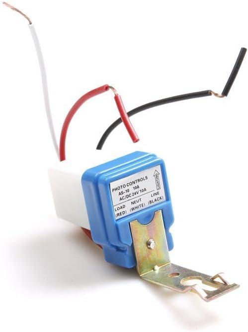 AC DC 12V 10A Auto On Off Photocell Light Switch Photoswitch Light Sensor Switch 12V-1PC