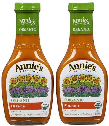 (Annie's Homegrown Organic French Dressing, 8 oz, 2 pk)