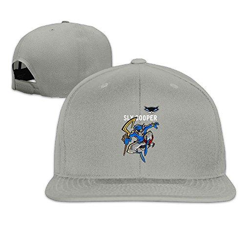 Hat Display Mlb Cases (BAI XUE Sly Cooper Baseball Cap Ash)
