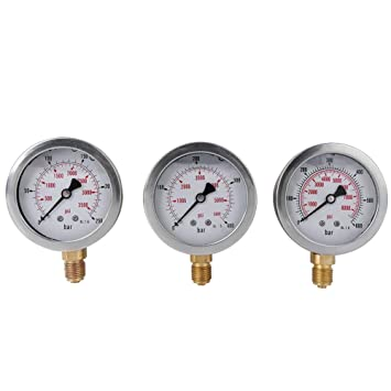 Hydraulik Manometer Kit Bagger Teile Hydrauliktester Kupplung Hydraulikdruck Test Kit f/ür Bagger Baumaschinen