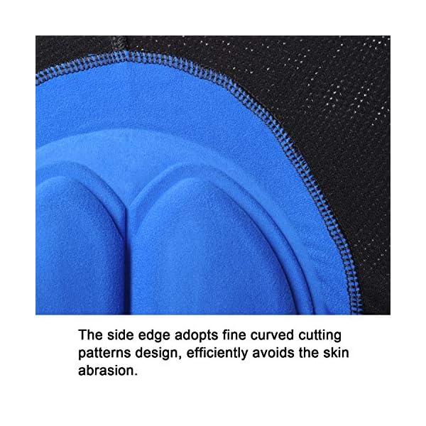 Cozone Pantaloncini da Ciclismo Intimo Uomo Ciclismo Mutande Gel 3D Imbottite Bicicletta Pants da Uomo 4 spesavip