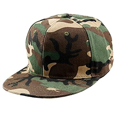 Samtree Unisex Snapback Hats,Adjustable Hip Hop Flat Brim Baseball Cap