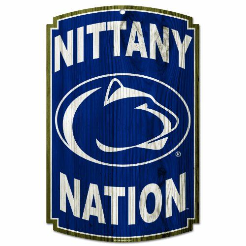 (NCAA Penn State Nittany Lions Wood Sign)