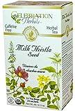 Celebration Herbals Milk Thistle Seed Herbal Tea -- 24 Tea Bags