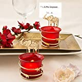 60 India Themed Candle Votive Holder with Placecard or Photo Holder
