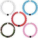 Lokai Bracelet Mud From Dead Sea Water From Mt Everest Friendship Bracelets All Sizes(M 5 colors)