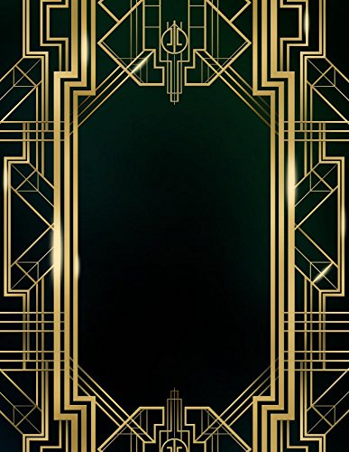 Wallmonkeys WM368168 Great Gatsby Art Deco Background Peel and Stick Wall Decals (30 in H x 23 in (1920s Room Decor)