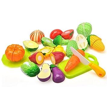 Cutting vegetables set Lychee Kitchen Fun Cutting Vegetables Play Set With Cutting Board For Kids