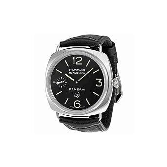 amazon com panerai radiomir black seal mens watch 00380 panerai panerai radiomir black seal mens watch 00380