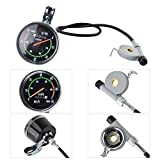 Lixada1 Classical Bike Stopwatch Speedometer
