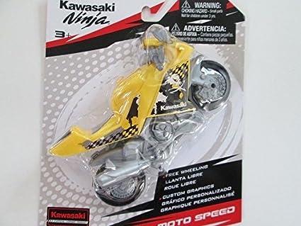 MOTO SPEED KAWASAKI NINJA MOTORCYCLE YELLOW