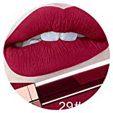 Best Burt's Bees Lipstick Colors - Women Lipstick Matte Lipstick Long Lasting Red Lip Review