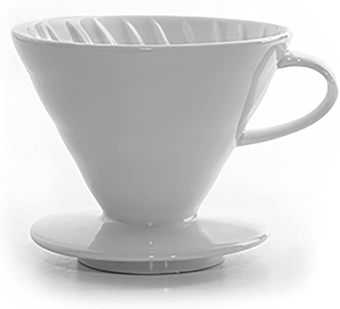 Amazon.com: tanors cerámica Cafetera de émbolo, Blanco ...