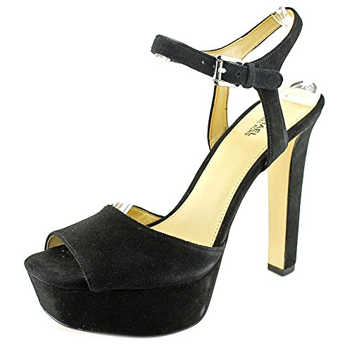 Michael Michael Kors Trish Sandal Mujer Ante Sandalia Plataforma