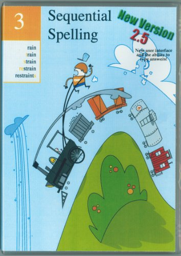 Volume 3 - Sequential Spelling DVD-ROM, NEW Version 2.5 (Classic Series 2014)