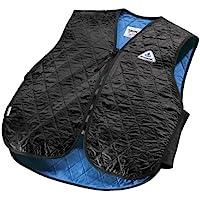 HyperKewl Evaporative Cooling Sport Vest, Black, Large
