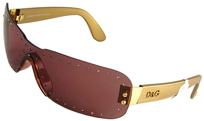 Amazon.com: Dolce & Gabbana D & G 2059 472 Rimless Shield ...