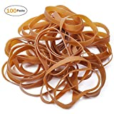 Rubber Bands, UCEC 100 PCS Large Elastic Stretchable Bands for Office Home School Bank Supplies