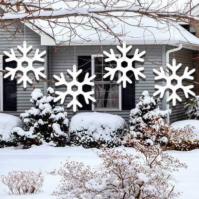 Amazon.com: VictoryStore - Juego de 15 copos de nieve para ...
