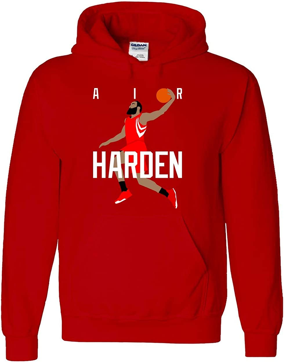 RED Houston Harden Air Pic Hooded Sweatshirt