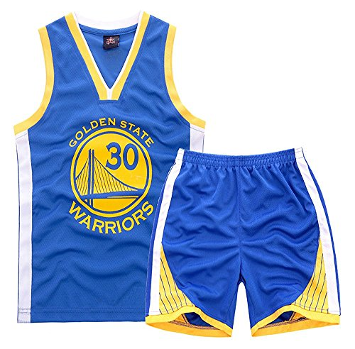 curry jersey and shorts