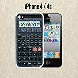 iPhone Case Scientific Calculator for iPhone 4 /4s Plastic White (Ships from CA)