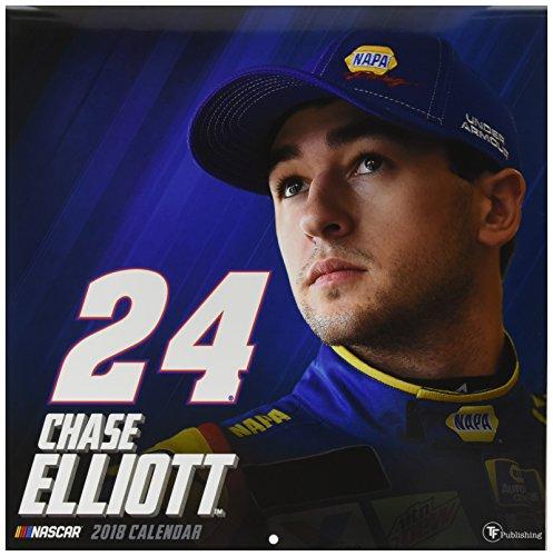 2018 Chase Elliott Wall Calendar