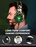 RUNMUS Gaming Headset for PS4, Xbox One, PC Headset