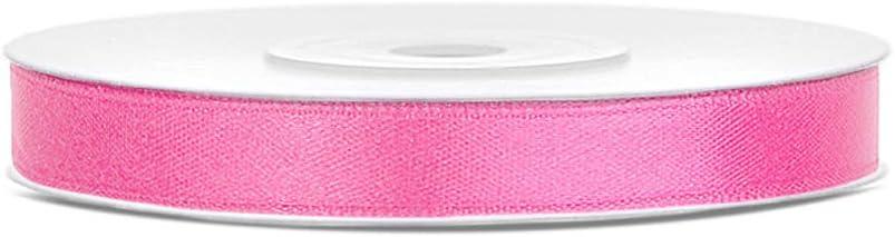 Farbe Purple DaLoKu Satinband 6//12//25//38//50//100mm x 25m Geschenkband Schleifenband Gr/ö/ße 6mm x 25m