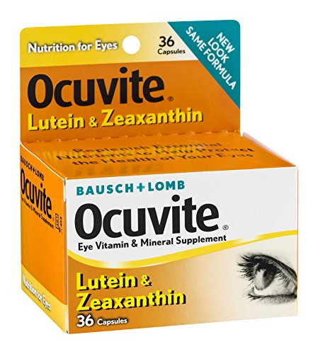 Bausch & Lomb Ocuvite Lutein Capsules 36 Capsules (Pack of 9) by Bausch & Lomb