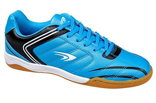 gibra - Zapatillas para deportes de interior de Material Sintético para hombre Azul - azul