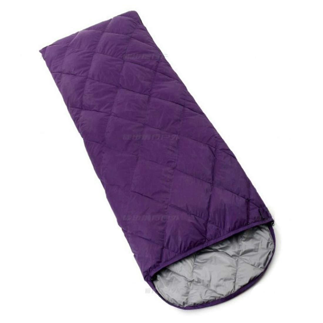 Jhcpca 封筒型 軽量 持ちやすい ポータブル 大人用寝袋 夏、春、秋に対応 (Color : レッド, サイズ : 700g) B07KT6TRMQ Purple 600g 600g Purple