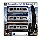Daron MTA Motorized NYC Subway Train Set with Track offers