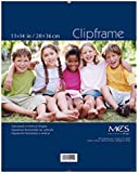 MCS 65597 Glass Clip Frame, 11 by 14-Inch