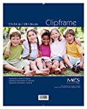 MCS 55114 11 by 14-Inch Glass Clip Frame