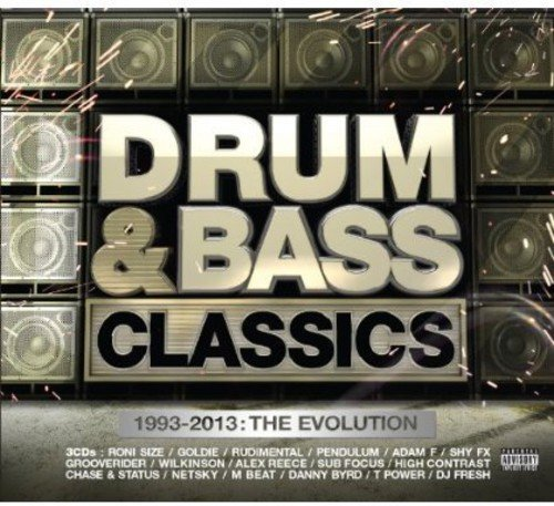 CD : VARIOUS ARTISTS - Drum & Bass Classics / Various (United Kingdom - Import, 3PC)