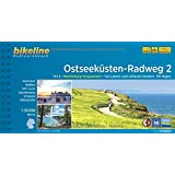 Ostseeküsten-Radweg 2: Mecklenburg-Vorpommern. Von Lübeck nach Ahlbeck/Usedom. Mit Rügen, 690 km, 1:50 000, GPS-Tracks Download, wetterfest/reißfest