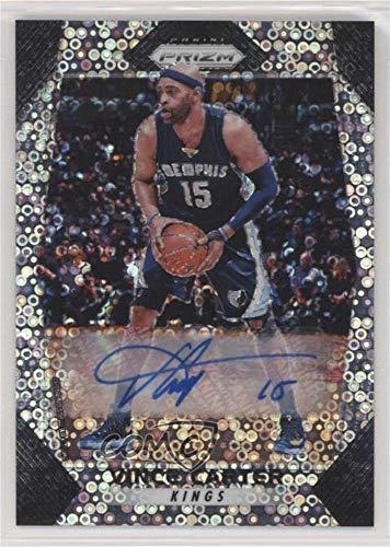 Basketball Vince Carter (Vince Carter (Basketball Card) 2017-18 Panini Prizm - [Base] - Fast Break Autographs [Autographed] #25)