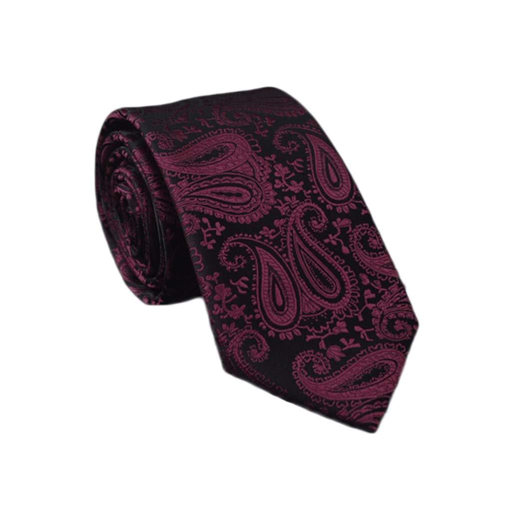 Zyj stores-Necktie Shirt Tie Male Korean Version of Formal Business Pattern Student Tie Color : Blue