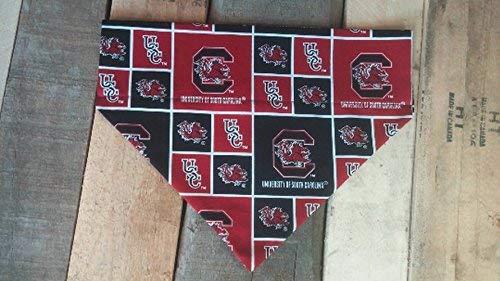 University South Carolina Gamecocks dog bandana