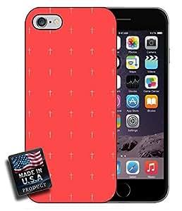 Cute Red Minimal Crosses iPhone 6 Hard Case