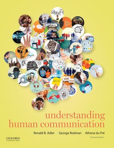 Understanding Human Communication by Adler Ronald B