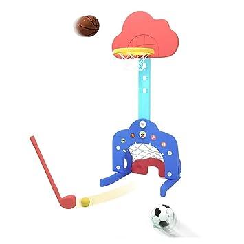 XINGLIAN 3 en 1 función Baloncesto de los niños Juego Soporte ...